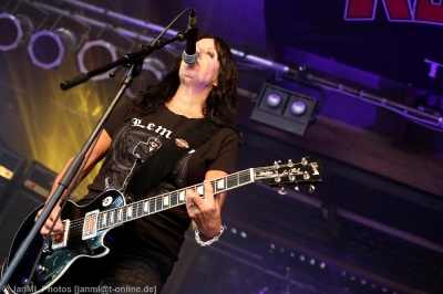 Girlschool - Headbangers Open Air XXI / 28.07.2018 – Brande-Hörnerkirchen, Tag 3_15