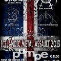 Icelandic Metal Assault!  Flyer